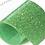 termovinile glitter verde