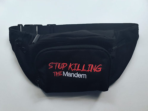 STOP KILLING THE MANDEM SIDEBAG