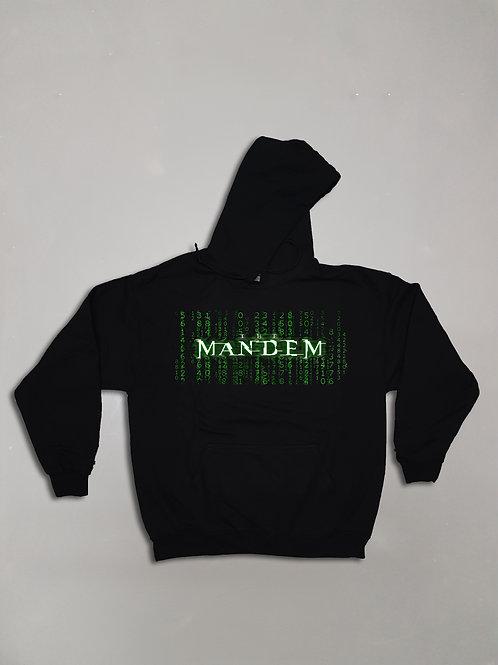 MANDEM IN MATRIX HOODIE