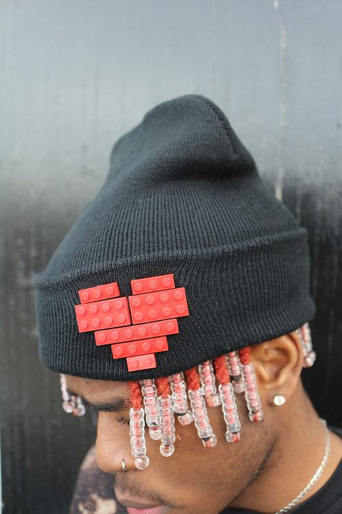 'LEGO HEART' BEANIE