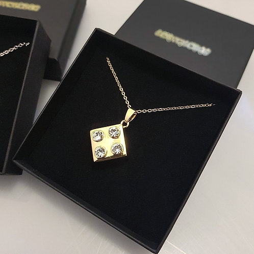 BLING BRICK PENDANT