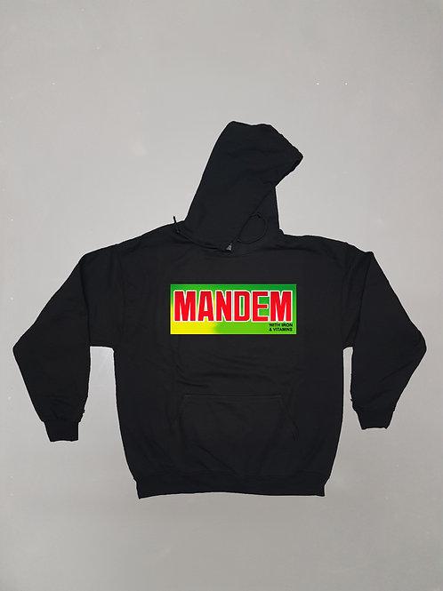 MANDEM IRON&VITAMINS HOODIE