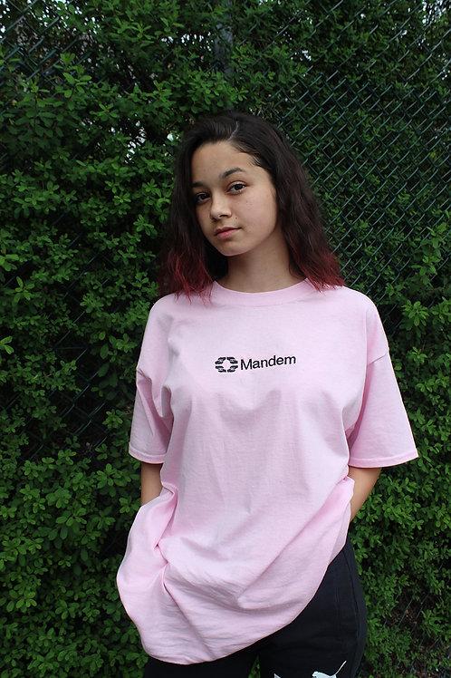 MANDEM PINK TEE