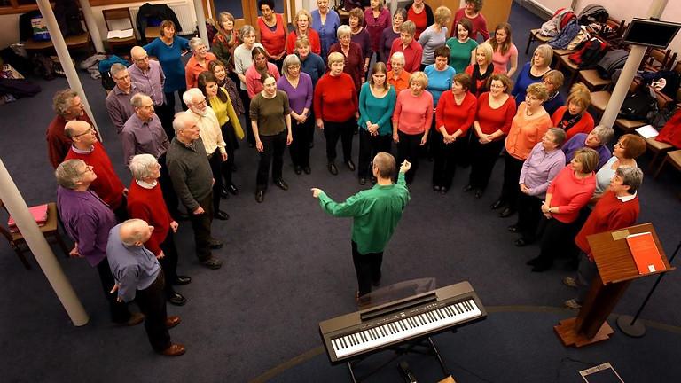 Choir Rehearsal, URC, Waddington Street