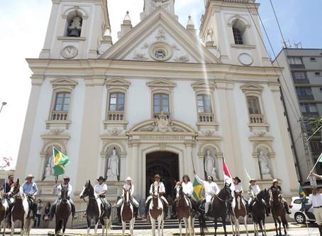 A visita do Príncipe Dom Bertrand de Orleans e Bragança em Guaratinguetá