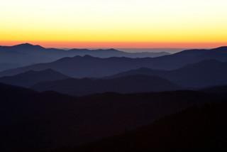 Sunset, Great Smoky Mountains Nat Park_r