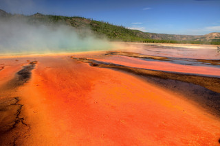 Grand Prismatic Spring, Yellowstone NP_r