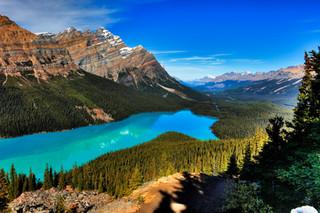 Peyto Lake  Banff National Park  Canada_