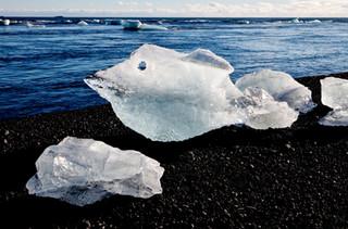 Ice floes, Joekulsarlon Glacial Lagoon,