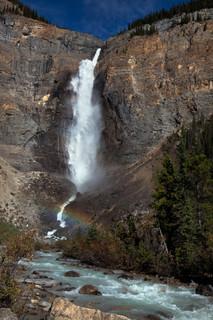 Takakkaw Falls , Yoho Nat Pk, BC, Canada