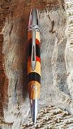 Stylos bois précieux Gilles de Lambilly GDL bille Rousseau