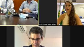 Reunião - CREF7/DF, Sindac e Assessoria Especial de Estratégia do Gabinete do Governador