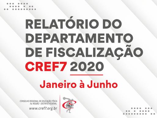 Relatório Fiscalização - 2020 - Janeiro a Junho