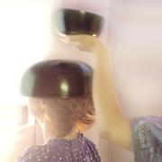 頭のシンギングボウルの画像 エステサロン マイトリ