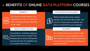 What can organizations benefit from online training?
