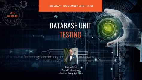 Database Unit Testing