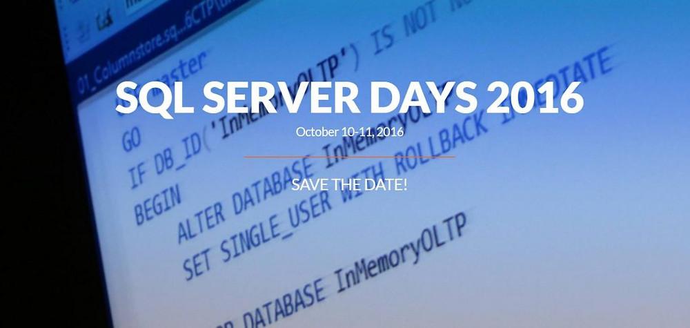 sql-server-days-2016