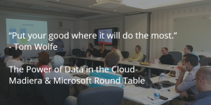 The power of data in the cloud