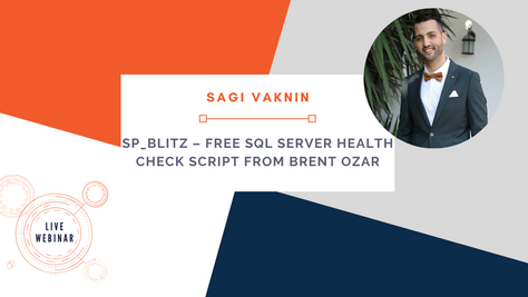 sp_Blitz – Free SQL Server Health Check Script from Brent Ozar