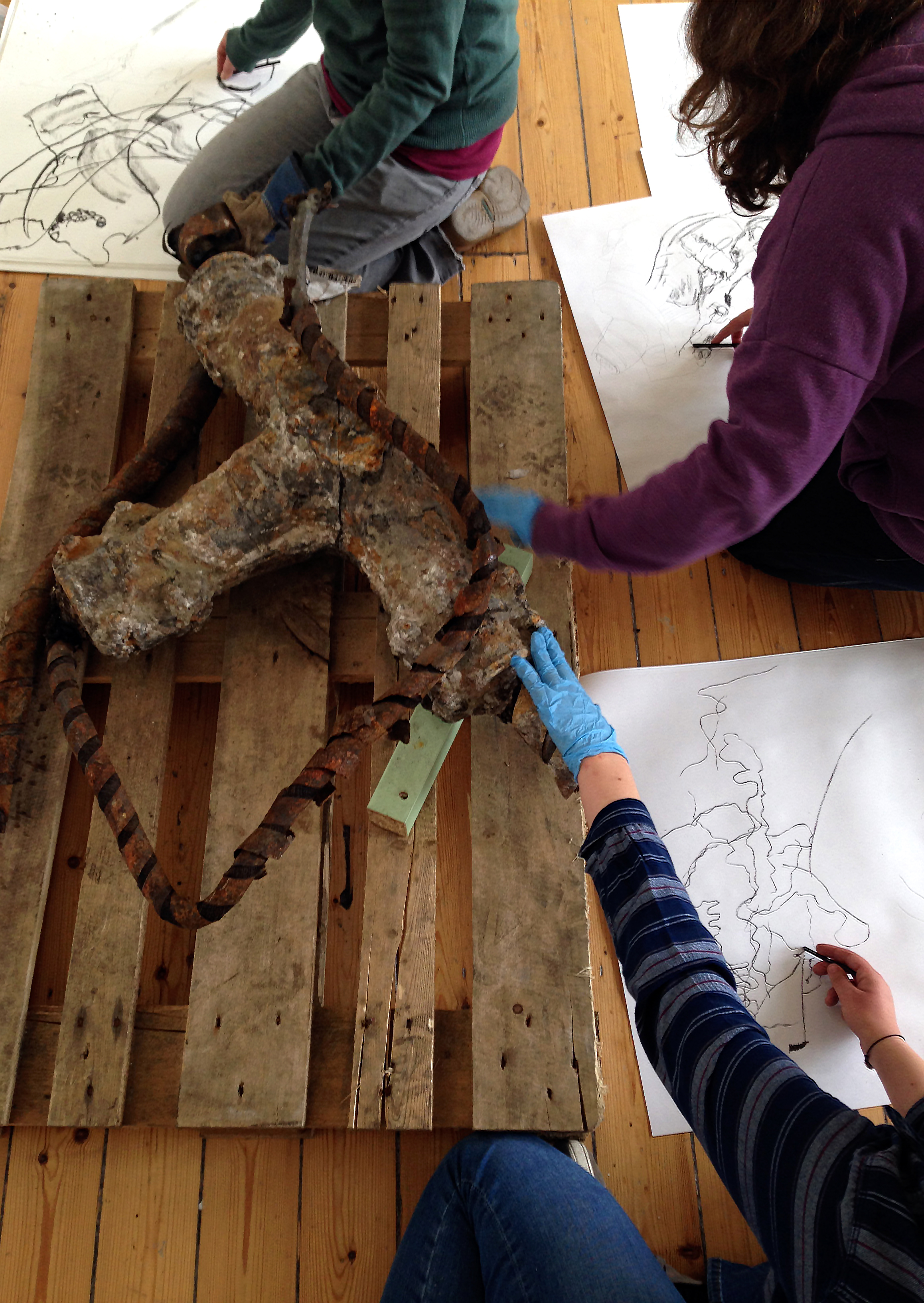 Drawing from Life 2015 Workshop