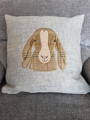 Long eared Applique tweed goat