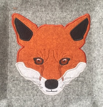 Applique Fox Head