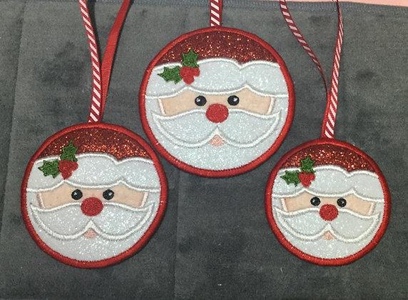 """Santa tags 3 sizes 4"""" 3.5""""& 3"""""""