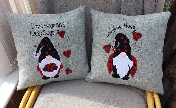 Ladybird hugs x2 designs