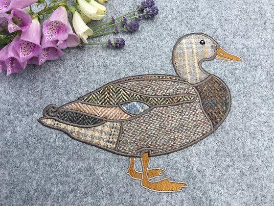 Duck Applique Machine Embroidery Design
