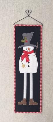 Skinny snowman quilt