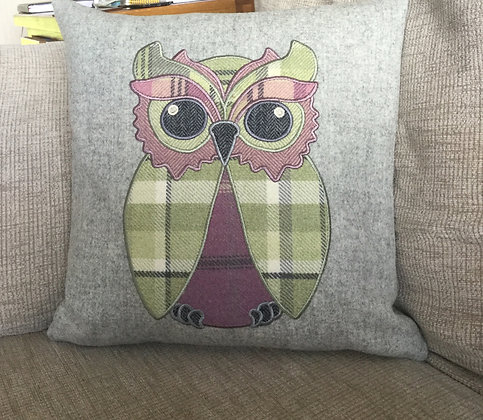 Owl Applique Machine Embroidery Design