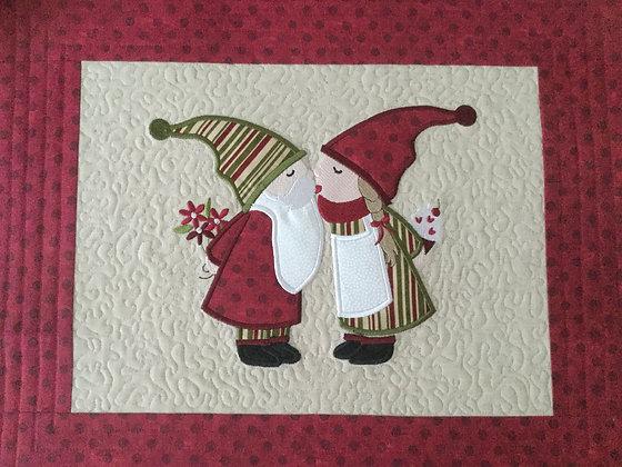 Gnomes Embroidery Design