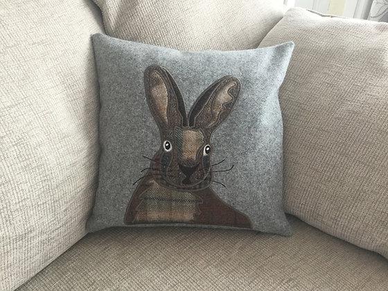 Hare Applique Machine Embroidery Design