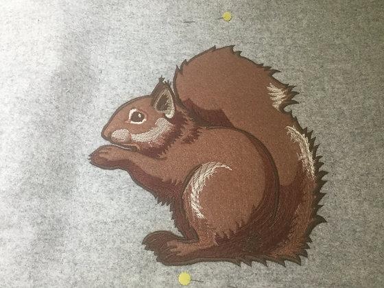 Applique squirrel