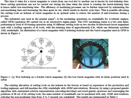 Reducing non-machining time of crankshafts at an automotive engine plant