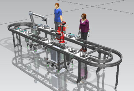 Balancing human-automation level in the human-robot collaborated assembly lines