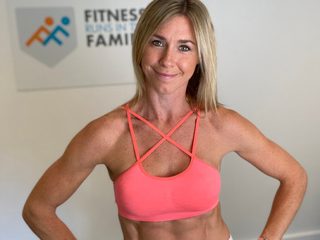 Guest Blog | Fitness Runs in the Family, From Lucinda Newman-Jones, Founder and Personal Trainer