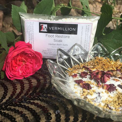 Foot Restore Soak - Herbal Bath Salts 5oz