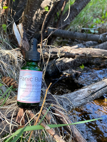 Panic Button - Herbal Extract Blend