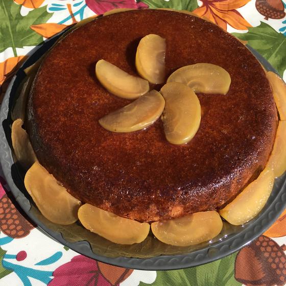 Spiced Apple Cider Mabon Cake