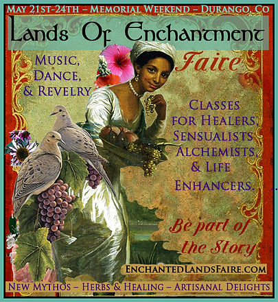 Lands of Enchantment Faire Graphic for O