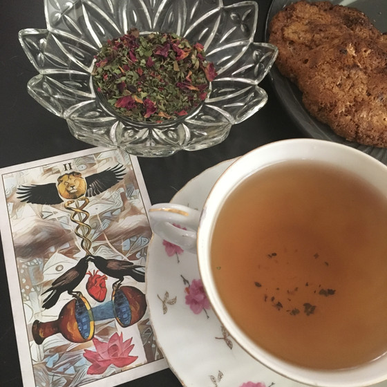 Tea Tuesday - Lemon Balm & Rose