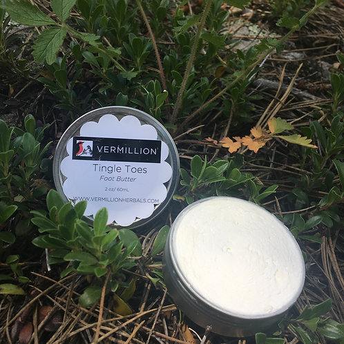 Tingle Toes - Foot and Body Butter - 2oz