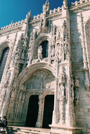 architectural building, photography, Lisbon, Portugal