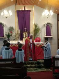 Palm Suday Mass 2019