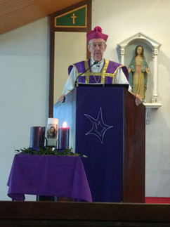 Mass during Advent