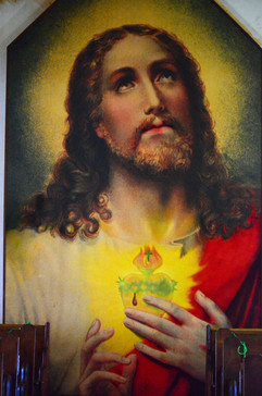 Sacred Heart of Jesus painting