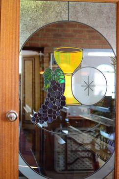 Chapel inner door