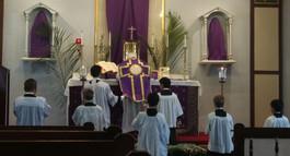 Palm Sunday Mass 2019