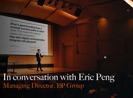 In conversation with Eric Peng